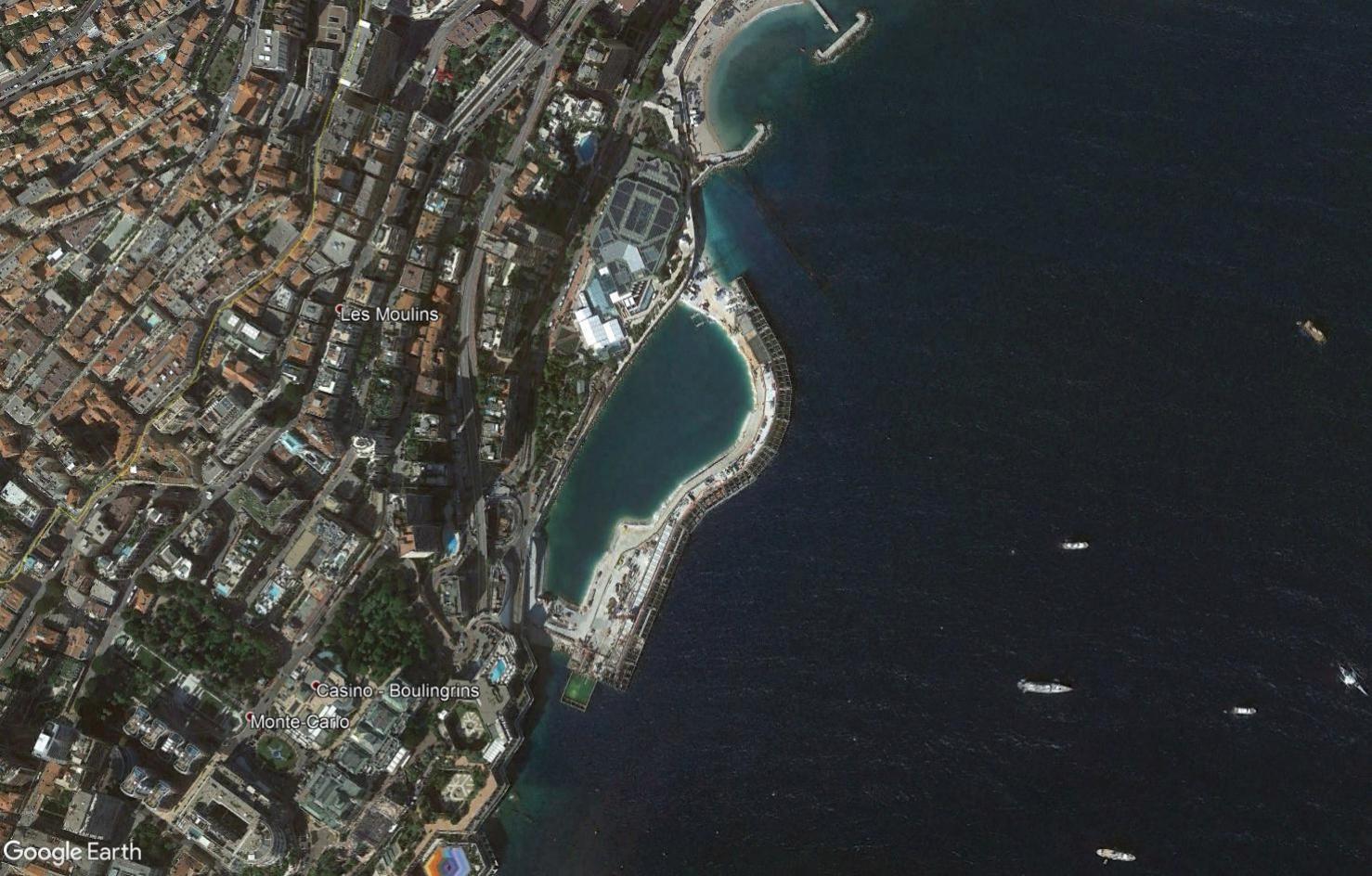 ( Bientôt visible sur google earth ) Presqu'ile Monaco Tsge2034