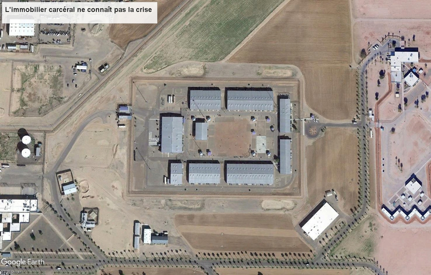 Si t'es pas sage, t'iras en prison... Perryville, Arizona Tsge2074