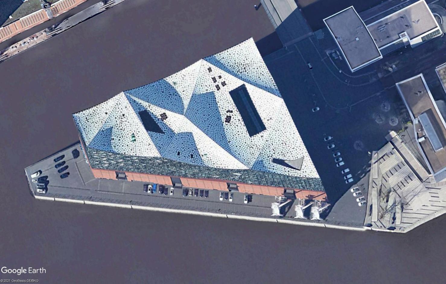 [Désormais visible sur Google Earth] - Elbphilharmonie - Hambourg - Allemagne Tsge2357