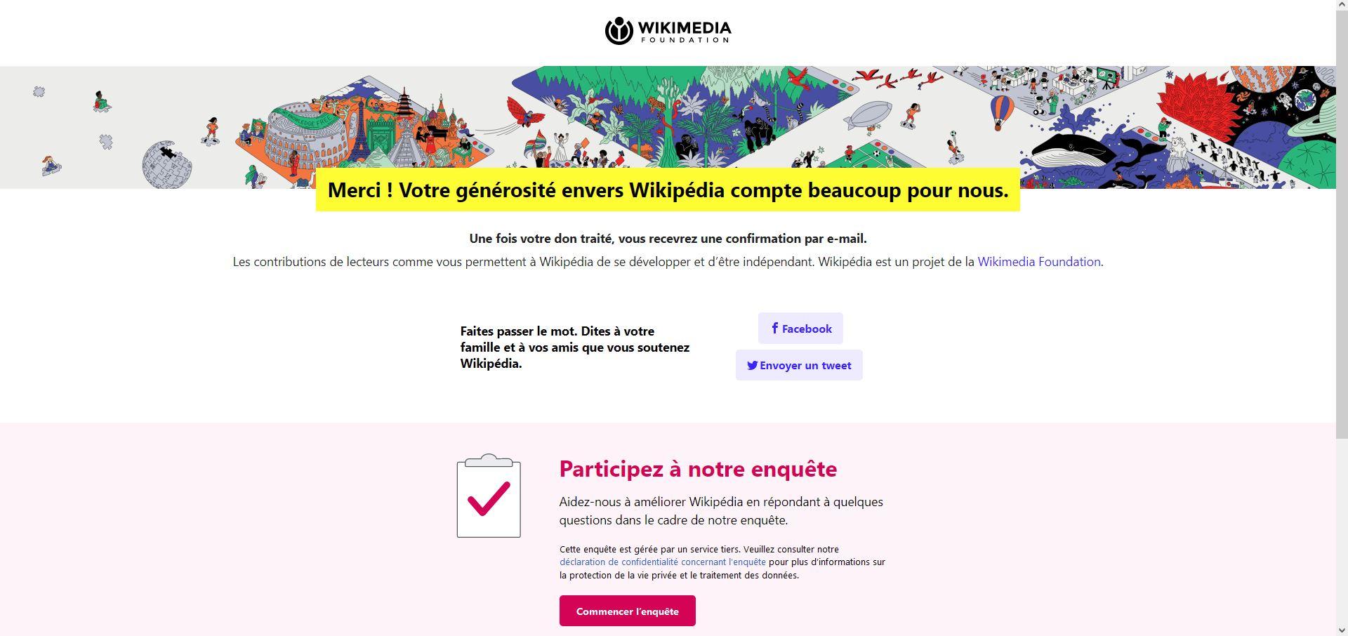 Soutien financier à Wikipedia [Le village de TSGE] Tsge2434