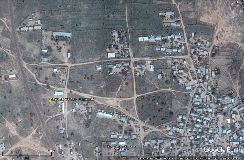 [Désormais visible sur Google-Earth] - Le collège (second cycle) de Komodindé - Mali Tsge_092