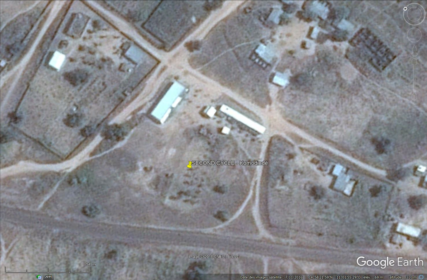 [Désormais visible sur Google-Earth] - Le collège (second cycle) de Komodindé - Mali Tsge_093