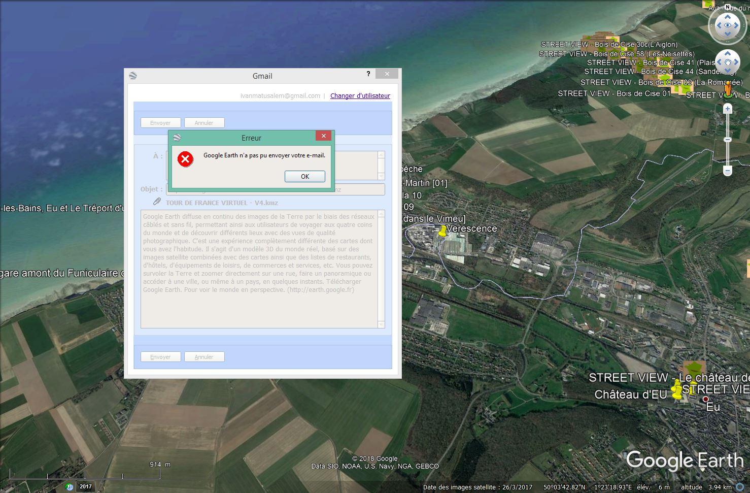 [résolu] Partage de trace : envoi par mail dans Google Earth impossible Tsge_095