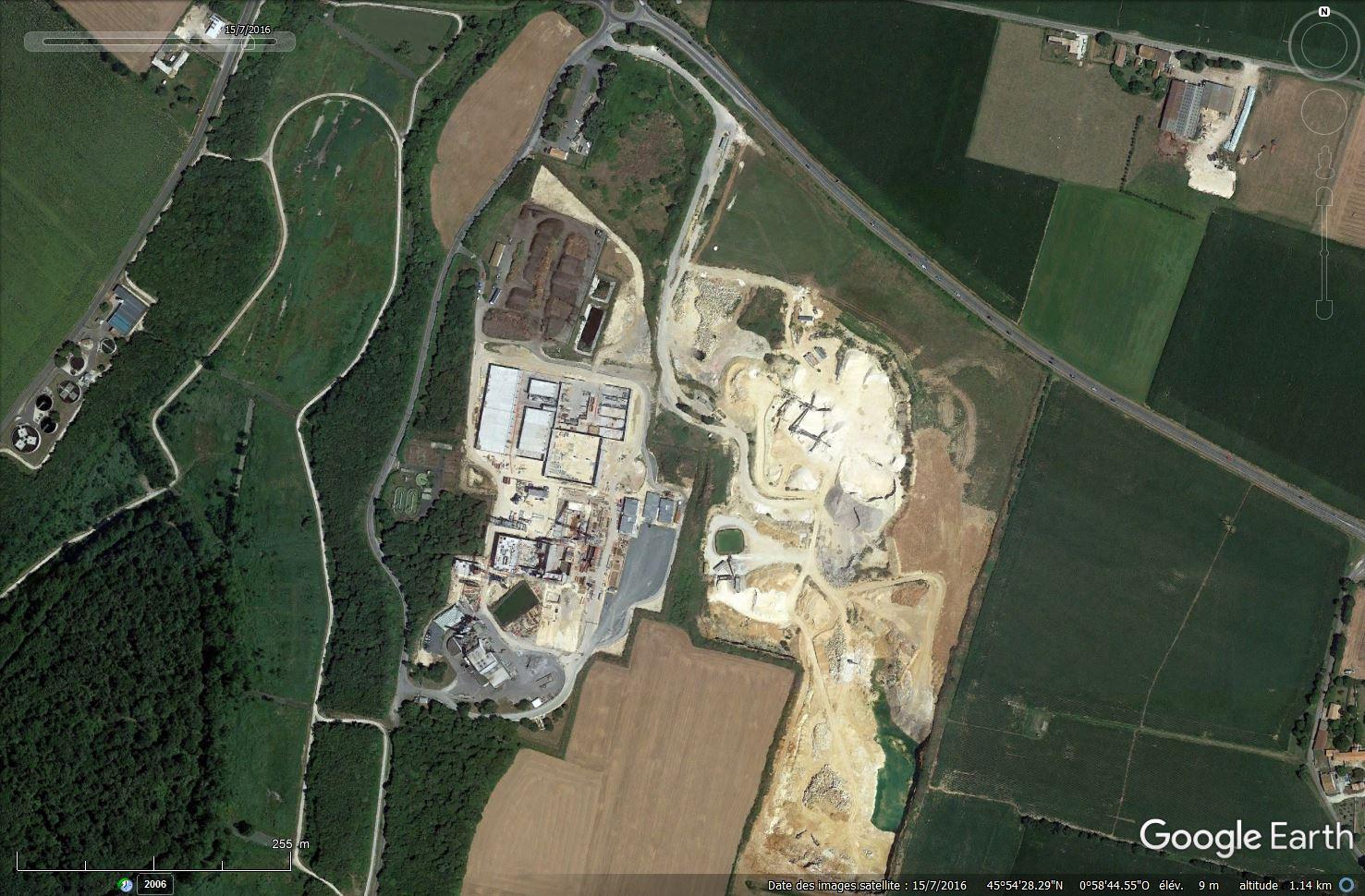 [Désormais visible sur Google Earth] - Unité multi-filières de valorisation des déchets, Echillais (17) Tsge_170