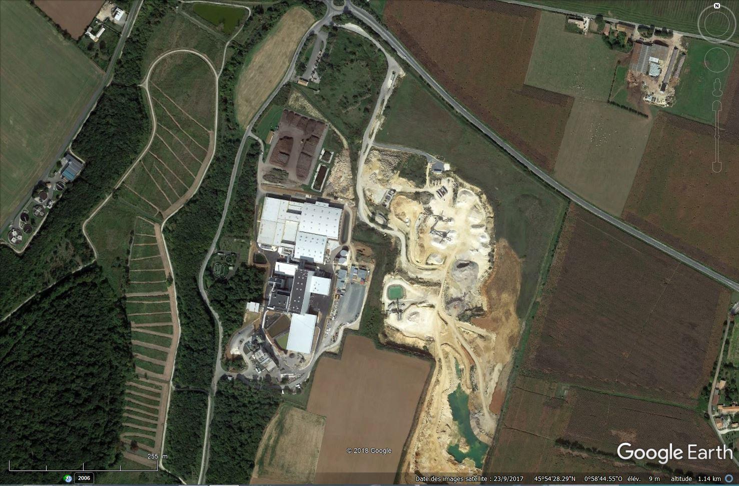 [Désormais visible sur Google Earth] - Unité multi-filières de valorisation des déchets, Echillais (17) Tsge_171
