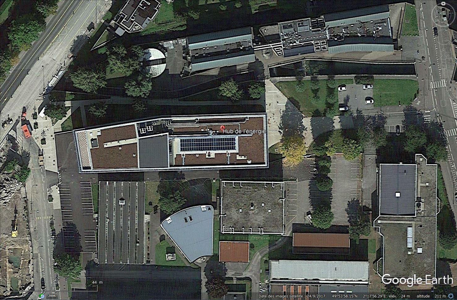 [Désormais visible sur Google Earth] - Plateforme nationale de recherche sur le stockage de l'énergie Tsge_175