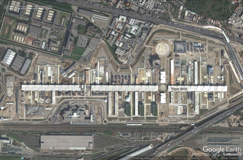 [Désormais visible dans Google Earth] L'Exposition Universelle 2015 à Milan - Italie Tsge_183