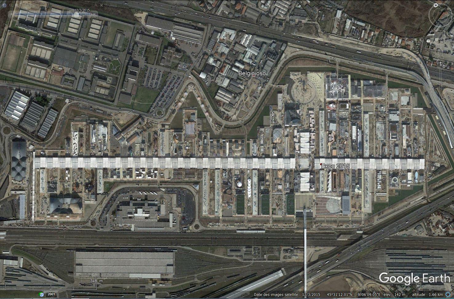 [Désormais visible dans Google Earth] L'Exposition Universelle 2015 à Milan - Italie Tsge_184