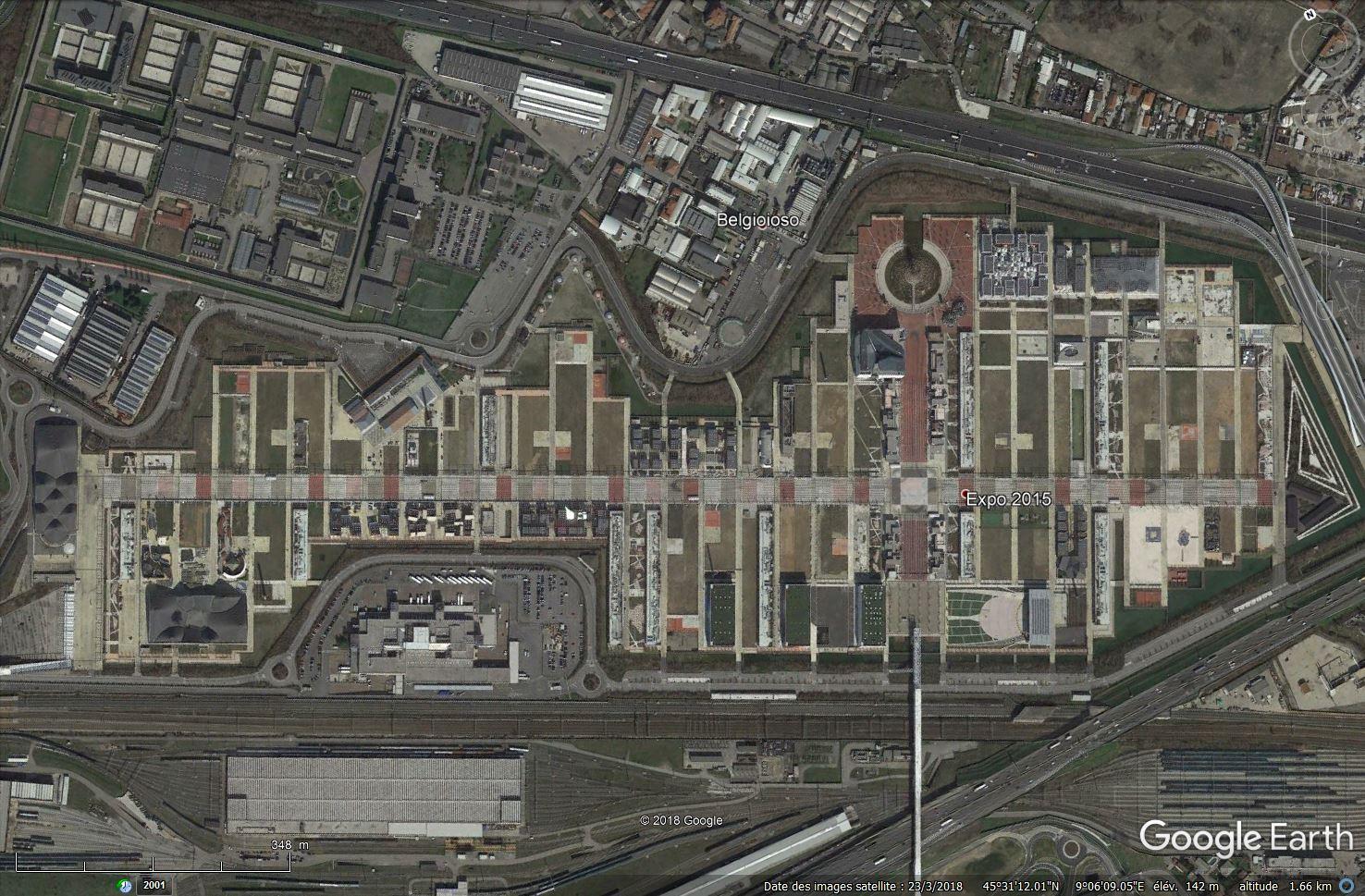 [Désormais visible dans Google Earth] L'Exposition Universelle 2015 à Milan - Italie Tsge_185