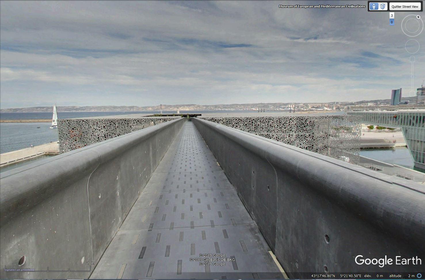 [Désormais visible sur Google-Earth] Le MuCEM - Marseille - France Tsge_190