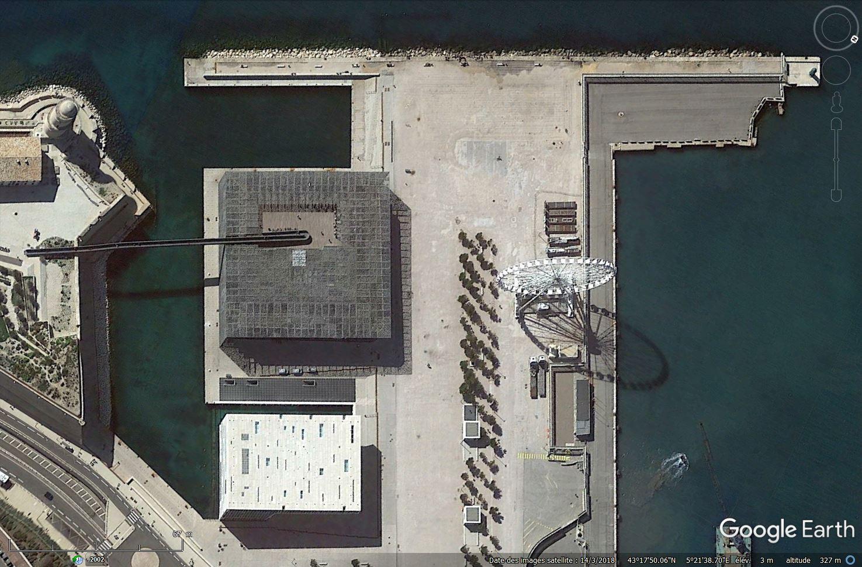 [Désormais visible sur Google-Earth] Le MuCEM - Marseille - France Tsge_193