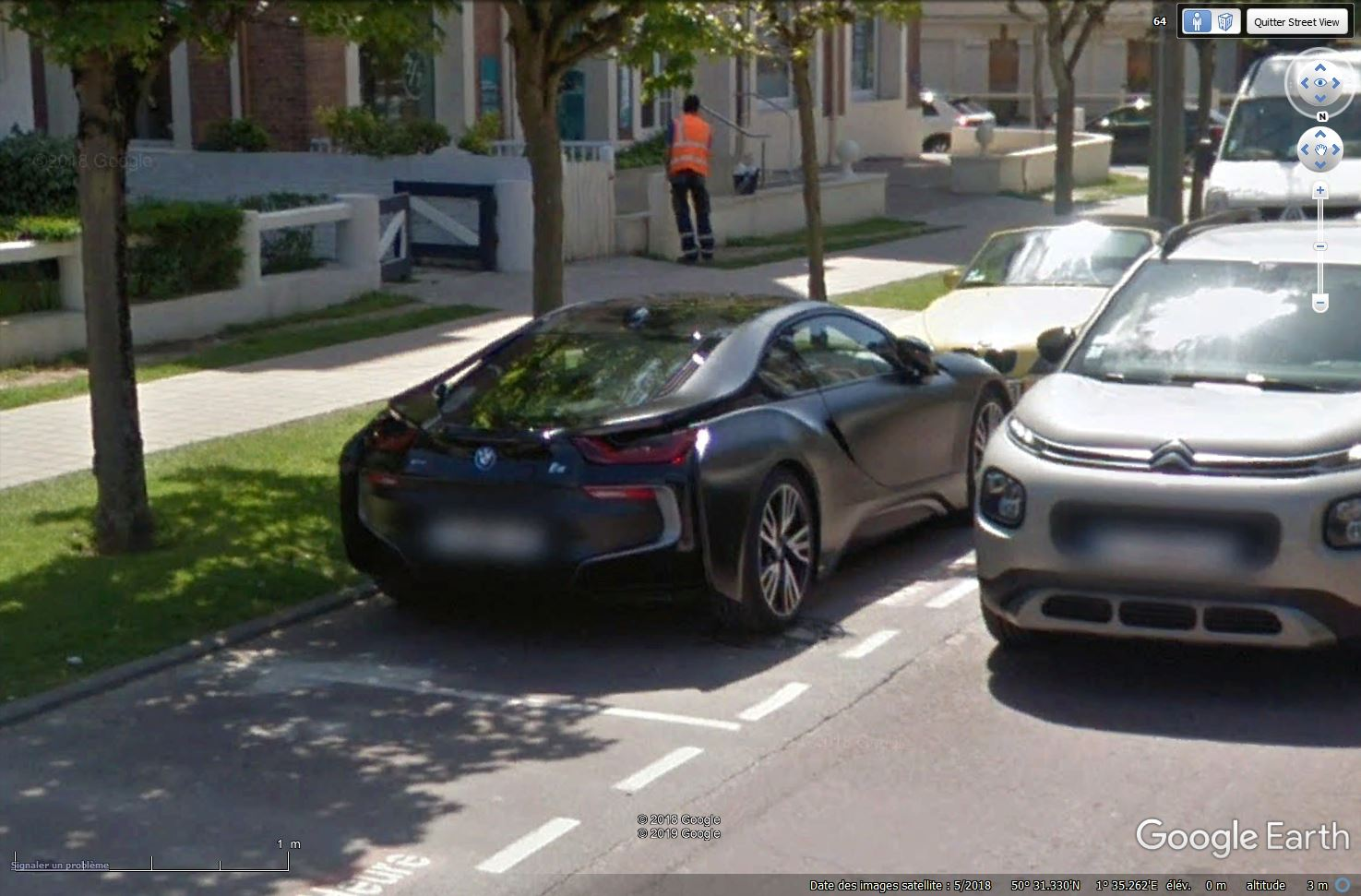 STREET VIEW : belles voitures (Monde) - Page 42 Tsge_431
