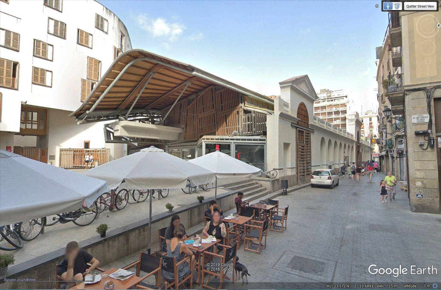 Le toit du  Marché Saint Catherine - Barcelone Tsge_693
