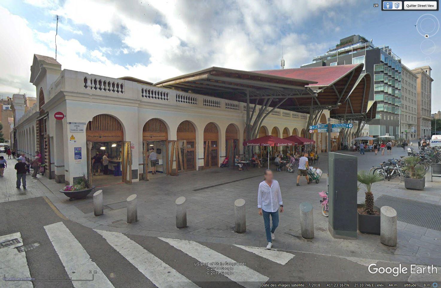 Le toit du  Marché Saint Catherine - Barcelone Tsge_694