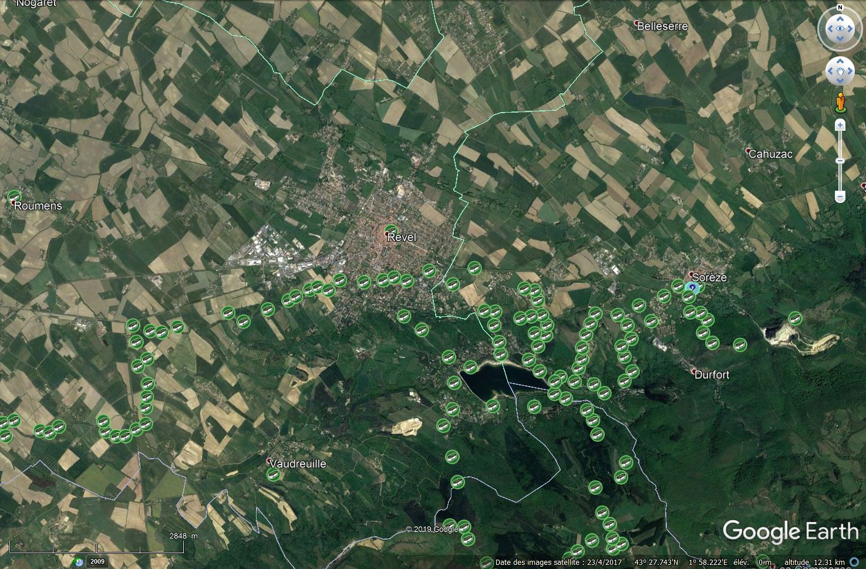 [KML] Geocaching Google Earth Viewer Tsge_968