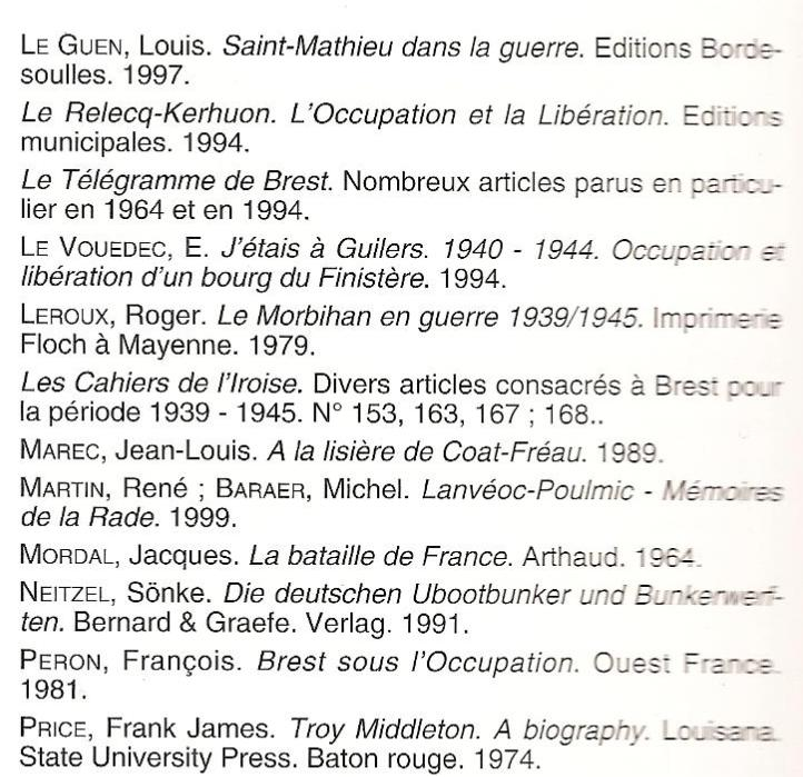 orientation bibliographique... Liste_14