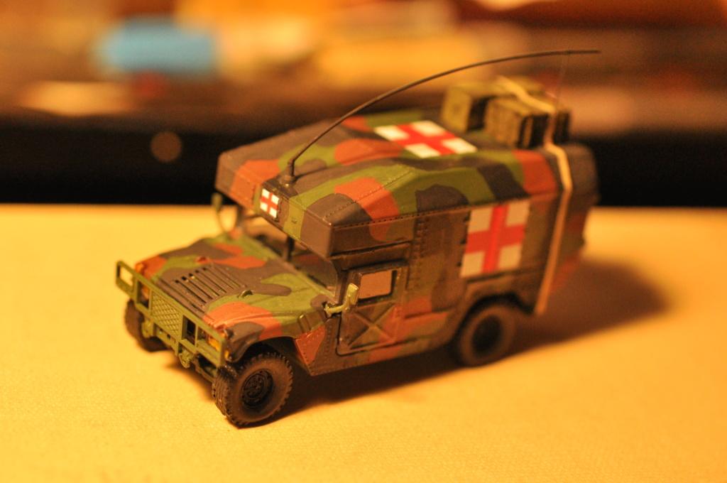 Exercice - Hummer Revell et figurines Preiser - 1/72 Dsc_0529