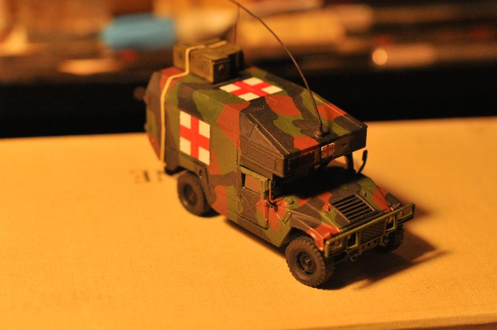 Exercice - Hummer Revell et figurines Preiser - 1/72 Dsc_0530