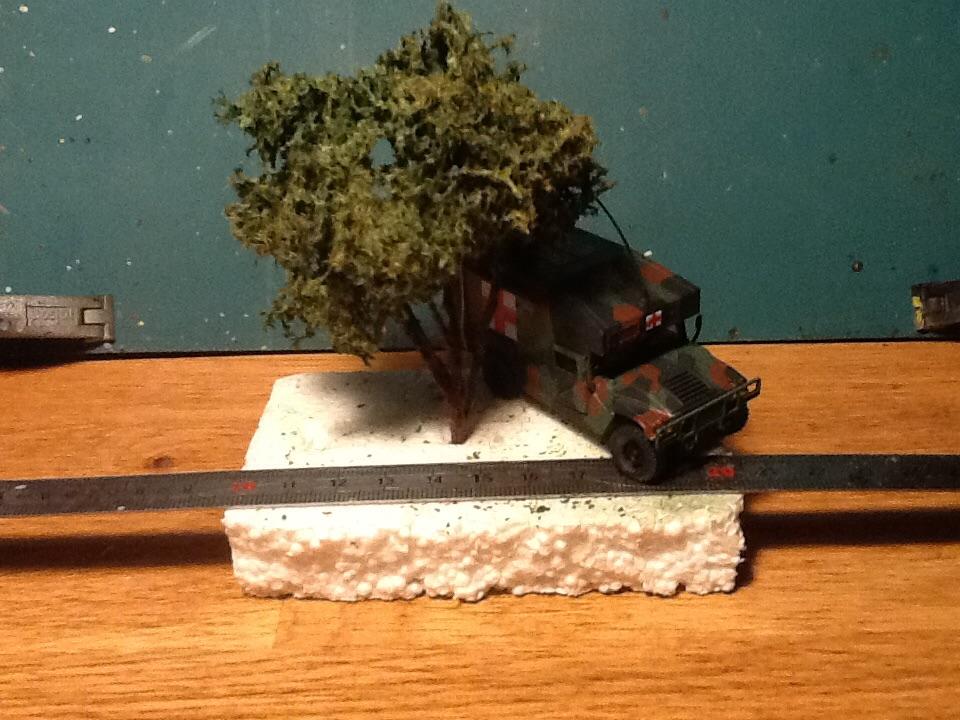 Exercice - Hummer Revell et figurines Preiser - 1/72 Image155