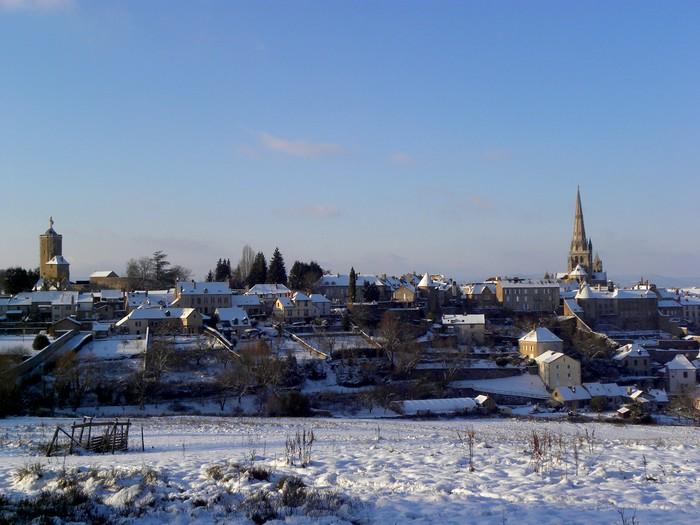 Autun sous la neige; 19 décembre 2009 Dscn0313