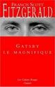 Les différentes éditions des livres et adaptations de la prochaine lecture de groupe au long cours. Gatsby11