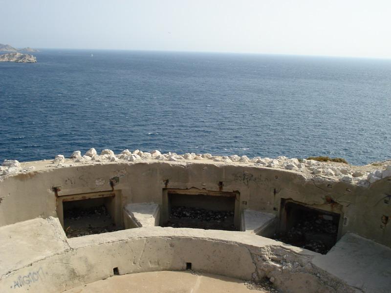 Mar 184, MKB 6./611, Croisette Fort Napoléon (Marseille, 13) Vue_bu12