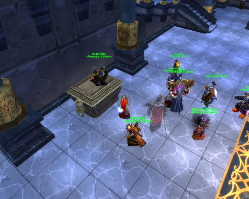 Some killshots of some bosses slain by the new raid grp Chess10