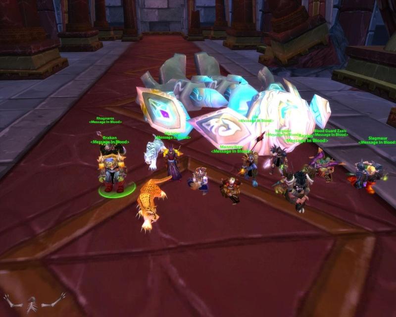 Some killshots of some bosses slain by the new raid grp Curato11