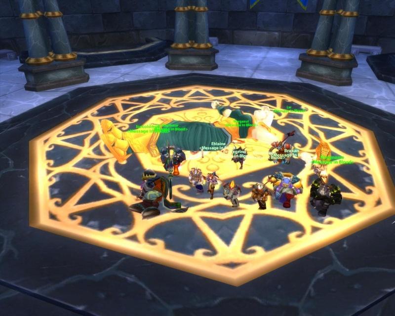 Some killshots of some bosses slain by the new raid grp Maiden10