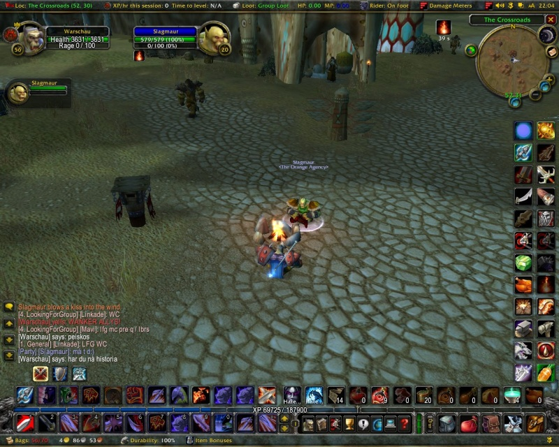 Some killshots of some bosses slain by the new raid grp Stemni10