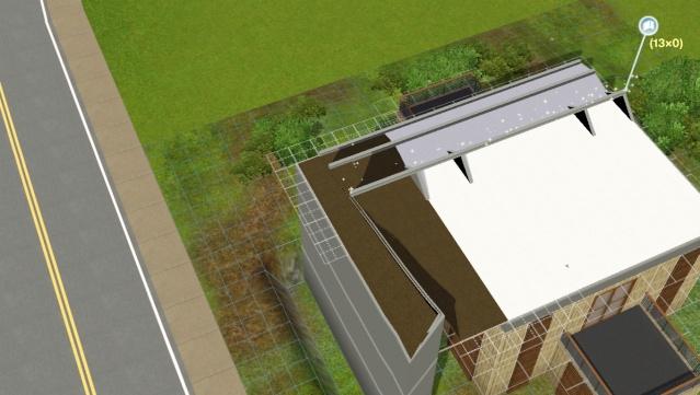 [Apprenti] Réalisation du toit en pente. Scree100