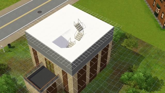 [Apprenti] Réalisation du toit en pente. Screen90