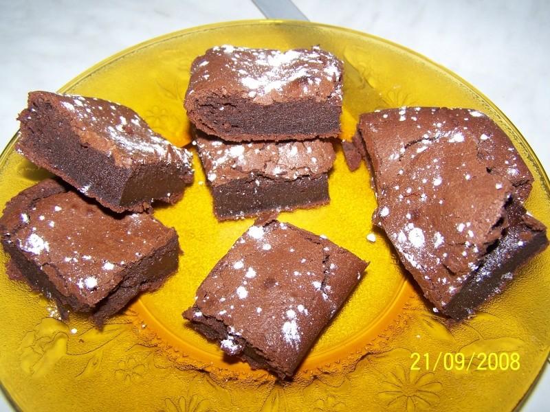 gâteau fondant au chocolat Fondan10