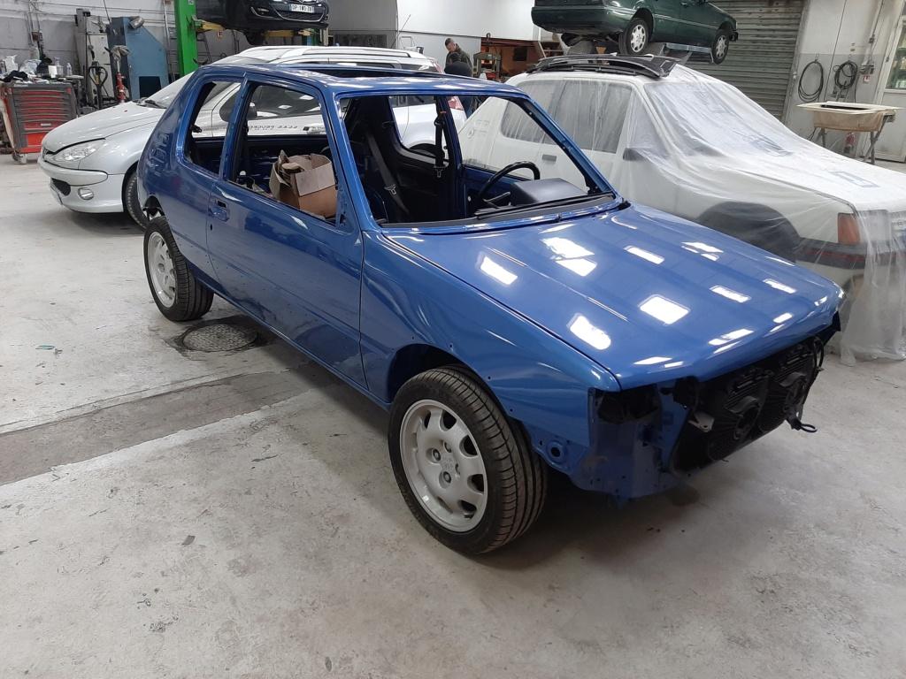 [60] 205 GTI 1L9 - 130cv - AM91 - Bleu Miami 20210320