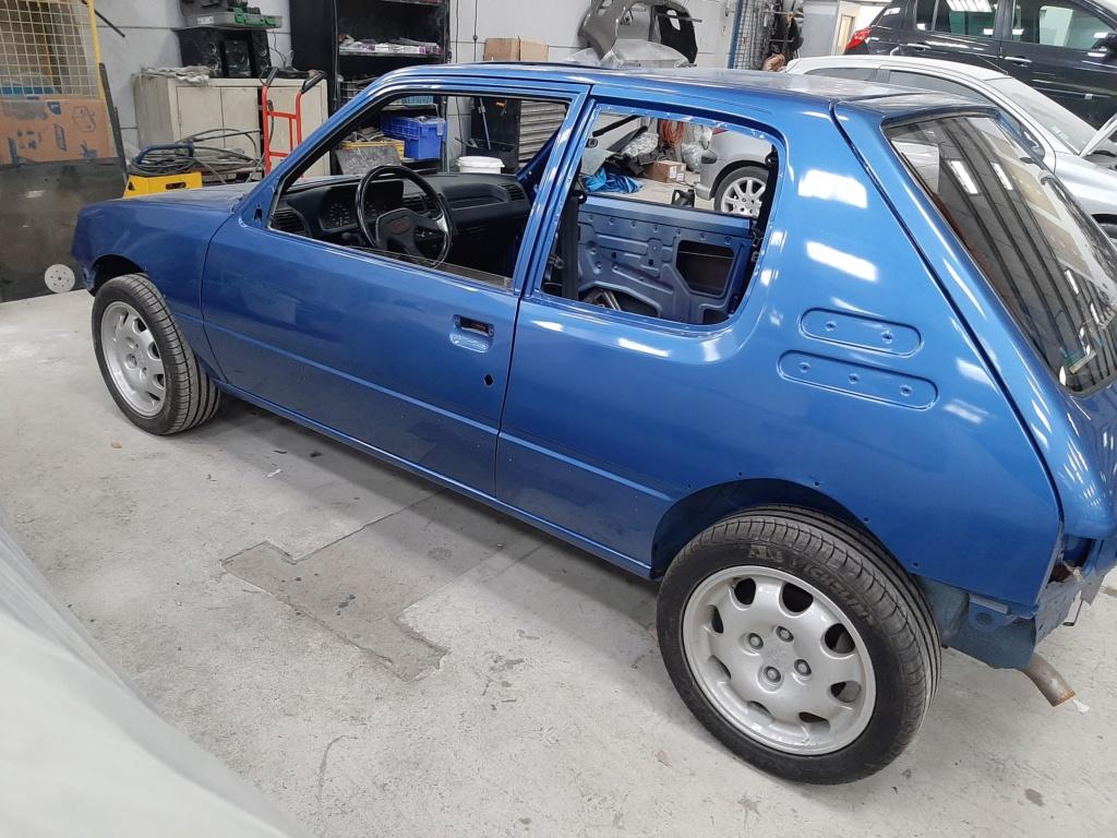 [60] 205 GTI 1L9 - 130cv - AM91 - Bleu Miami 20210322