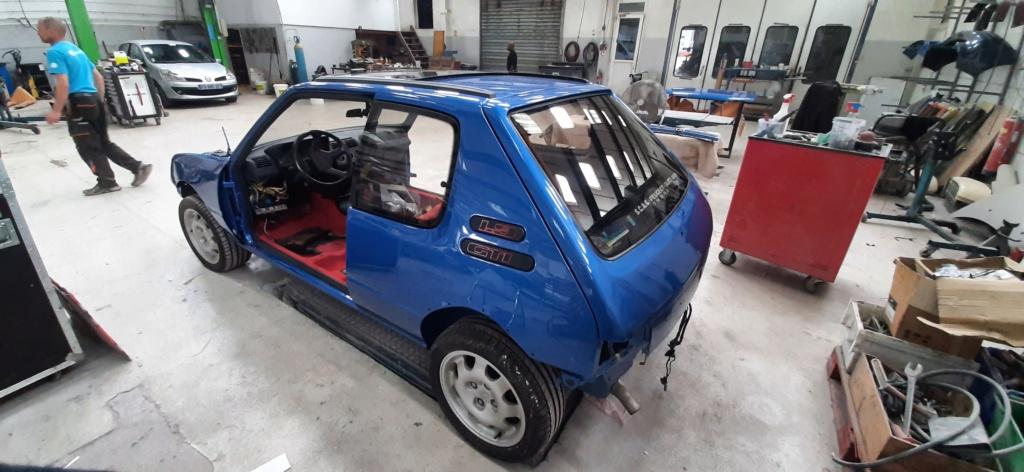 [60] 205 GTI 1L9 - 130cv - AM91 - Bleu Miami 20210610