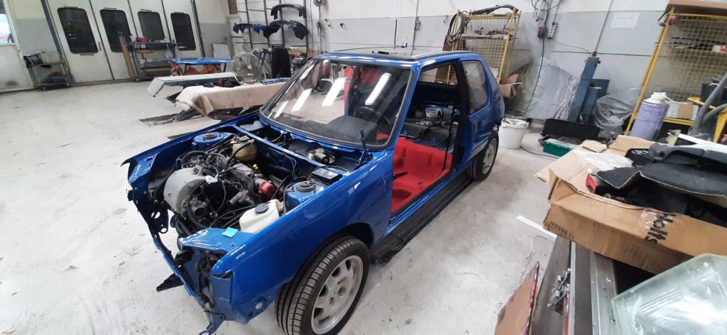 [60] 205 GTI 1L9 - 130cv - AM91 - Bleu Miami 20210611