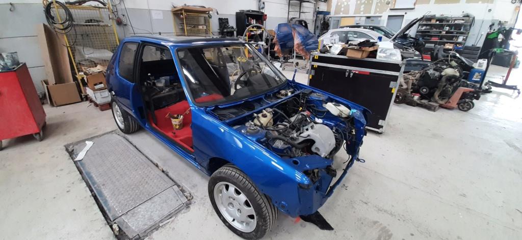 [60] 205 GTI 1L9 - 130cv - AM91 - Bleu Miami 20210612