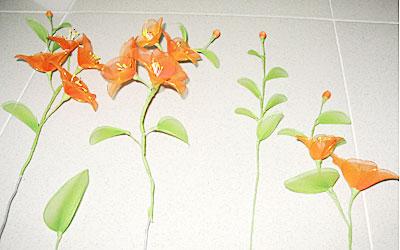 Cách làm hoa voan Locnon10
