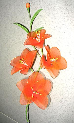 Cách làm hoa voan Locnon16