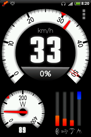 SpeedoDyno - compteur de vitesse et dynamomètre pour Android Screen10