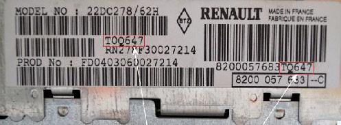 [ Renault tous modèles ] Demande de code autoradio Wpd91110