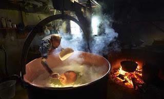 صور رائعة لكيفية صنع الجبنة السويسرية! 117