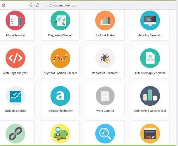 أهم الأدوات المجانية في مجال السيو SEO على موقع seootools.com 223
