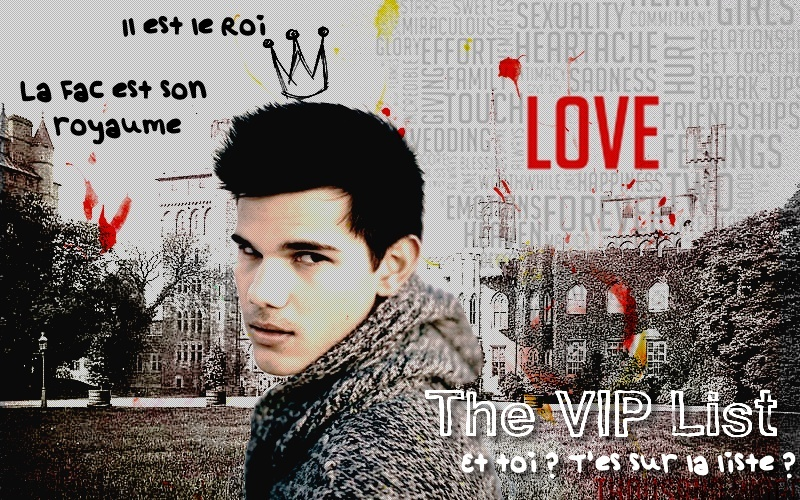 THE VIP LIST ♥