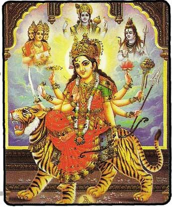 Les Divinités Hindou Carte_10