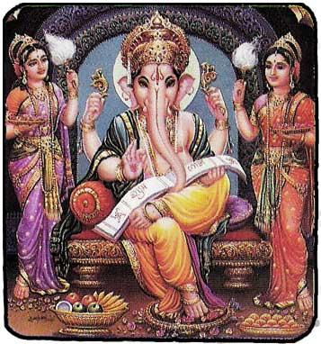 Les Divinités Hindou Carte_11