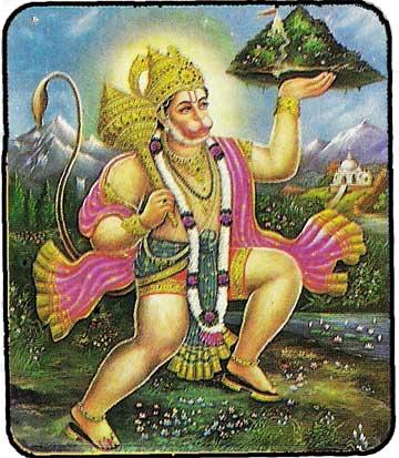 Les Divinités Hindou Carte_12