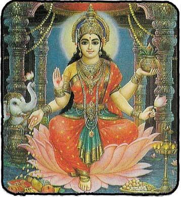 Les Divinités Hindou Carte_13