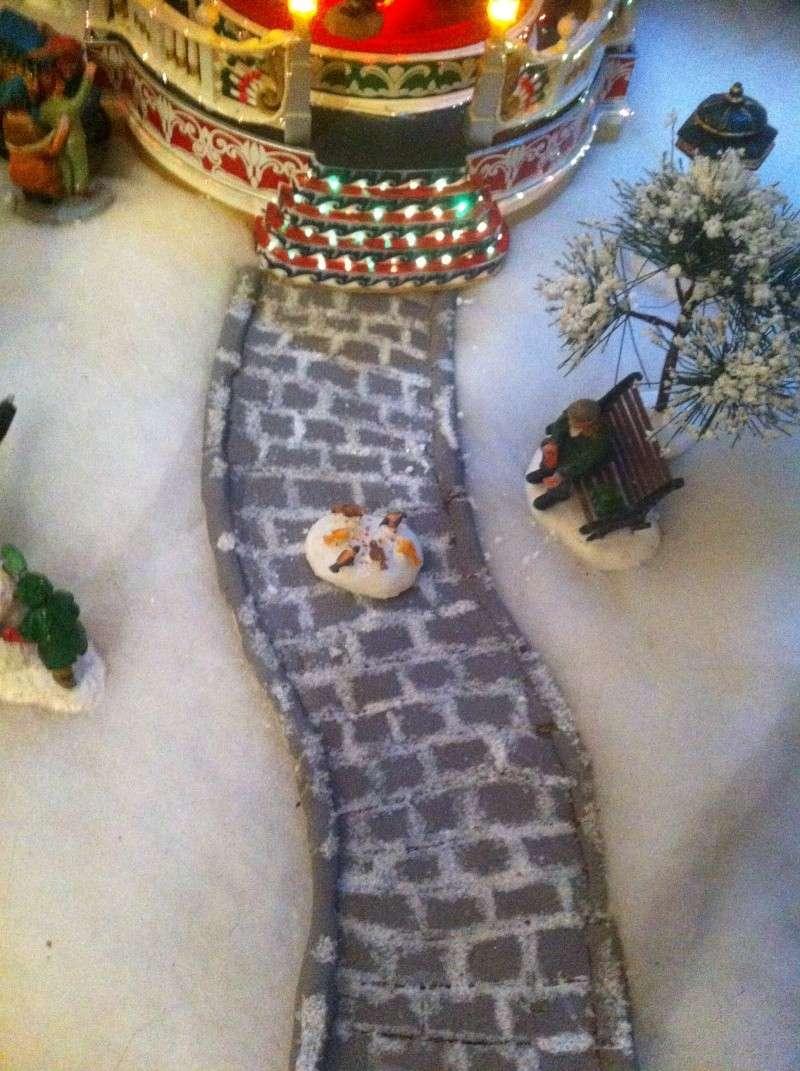 fabrication d'un chemin en pavé en pâte a sel Photo_10